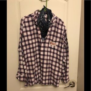 One of a kind flannel shirt